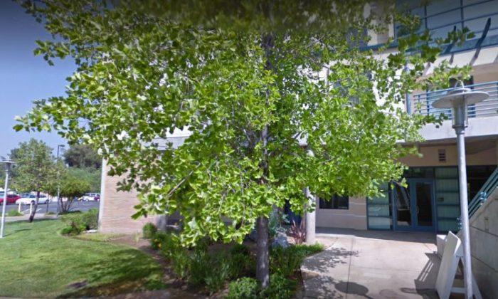 UC Riverside campus (Screenshot from Google Street View)
