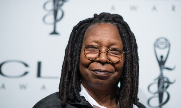 "Whoopi Goldberg, co-host of ABC's ""The View"" in New York City on Oct. 1, 2014. (Dave Kotinsky/Getty Images)"