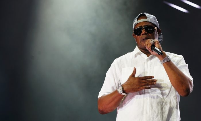 Master P performs onstage at the 2017 ESSENCE Festival at the Mercedes-Benz Superdome in New Orleans, Louisiana, on July 2, 2017. (Bennett Raglin/Getty Images for 2017 ESSENCE Festival)