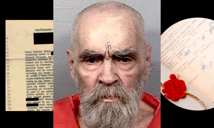 As Charles Manson's body remains in a morgue, there are three individuals in contention for his body, and a potential fourth, who has yet to make a court appearance.(California Department of Corrections and Rehabilitation/Shutterstock/composite image by Tom Ozimek)