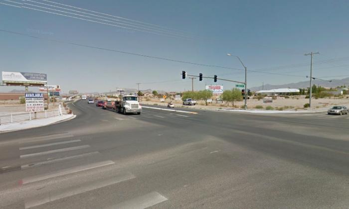 Las Vegas shooting survivor Roy McClellan was killed on Highway 160 in a hit-and-run. (Screenshot via Google Maps)