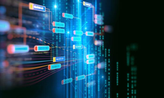 An artists rendering of blockchain technology. SALT Lending wants to create the first lending market based on the technology. (Shutterstock)