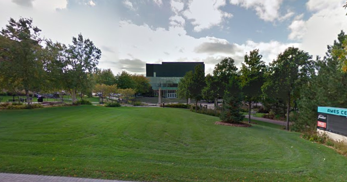 Venue of Miss Minnesota USA pageant at the Ames Center in Burnsville,