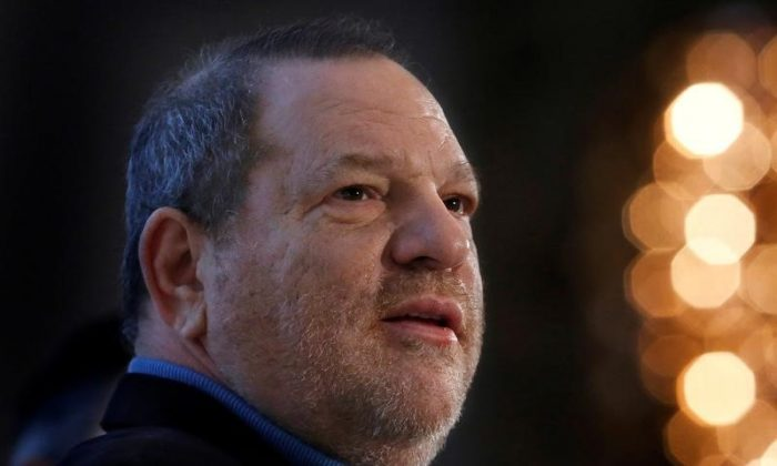 Harvey Weinstein speaks at the UBS 40th Annual Global Media and Communications Conference in New York, NY, U.S. on December 5, 2012.    (Reuters/Carlo Allegri/File Photo)