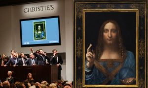 The Historic Reappearance and Disappearance of Leonardo da Vinci's 'Salvator Mundi'