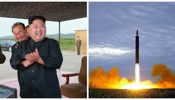North Korean leader Kim Jong Un has vowed to complete North Korea's nuclear force. Hawaii is reinstating a statewide nuclear attack warning signal to prepare for a potential attack from North Korea. (STR/AFP/Getty Images)