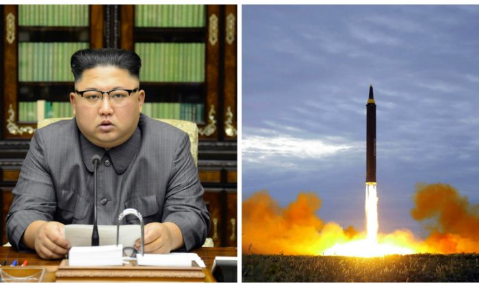 North Korean leader Kim Jong-Un has vowed to complete North Korea's nuclear force. Hawaii is reinstating a statewide nuclear attack warning signal to prepare for a potential attack from North Korea. (STR/AFP/Getty Images)