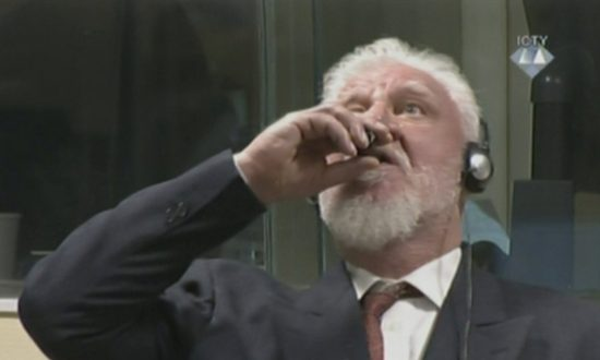 Bosnian Croat War Criminal Praljak Killed Himself With Cyanide: Prosecutors