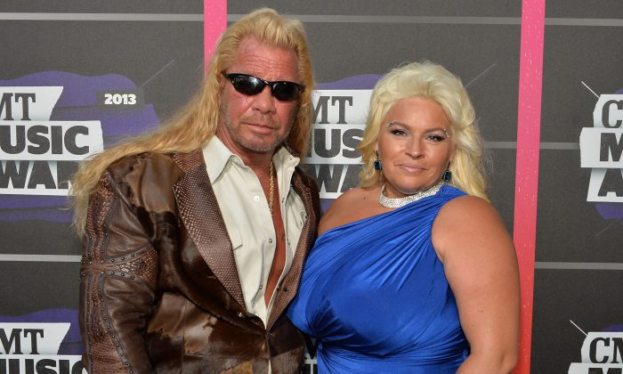 """(L-R) TV personalities Duane """"Dog"""" Lee Chapman and Beth Chapman attend the 2013 CMT Music awards at the Bridgestone Arena on June 5, 2013 in Nashville, Tennessee.  (Rick Diamond/Getty Images)"""