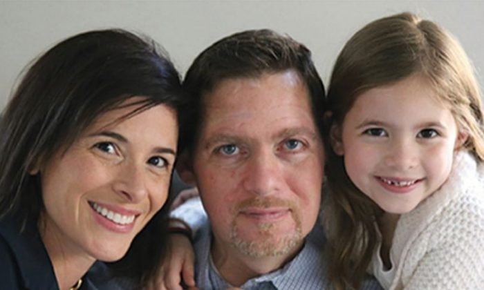 Anthony Senerchia with his wife, Jeanette Senerchia, and their daughter, Taya.
