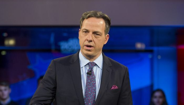 """Jake Tapper of CNN's """"State of the Union.""""  (Scott Eisen/Getty Images)"""
