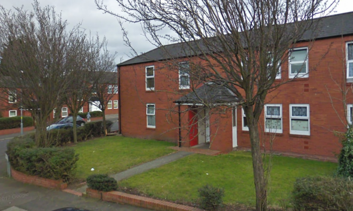 The house in Birmingham, UK, where the body of 7-year-old Hakeem Hussain was found on Sunday, Nov. 26. (Google Maps)