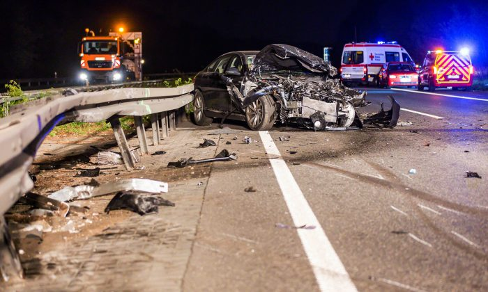Cars traveling at highway speeds and drunk drivers are a lethal mix. (Sebastian Stenzel/AFP/Getty Images)