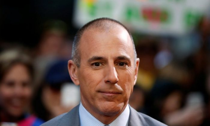 """Host Matt Lauer at NBC's """"Today"""" show at Rockefeller Center in New York, May 3, 2013. (Lucas Jackson/Reuters/File Photo)"""