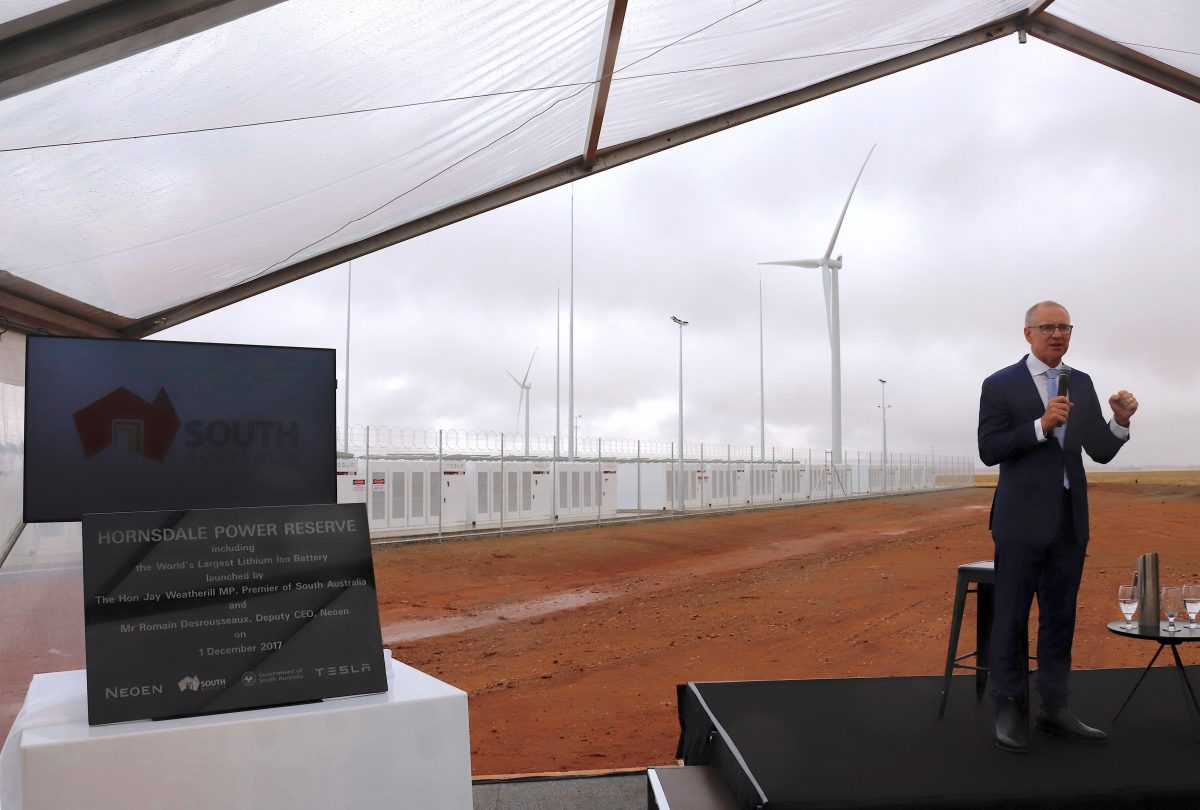 Tesla's South Australia battery starts delivering power a day early
