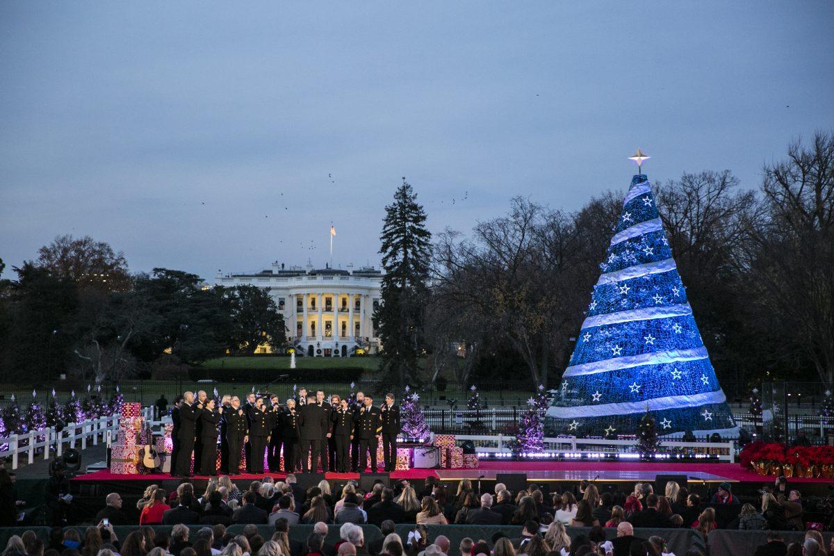 National Christmas Tree Lighting 2017 Time