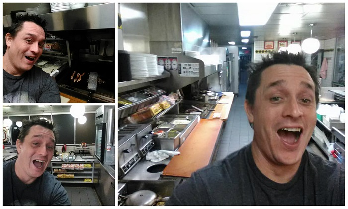 Waffle House customer cooks own food after finding staff asleep