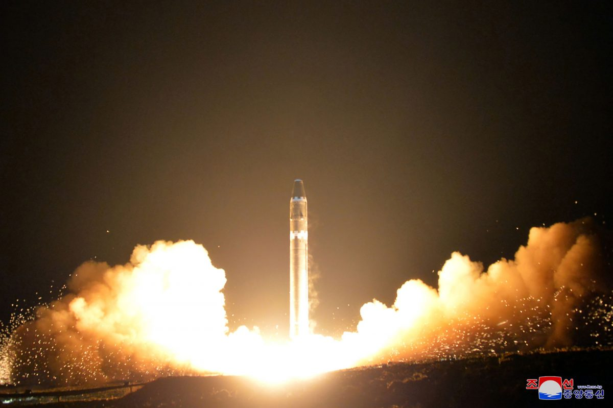 North Korea said to be testing anthrax-tipped ballistic missiles