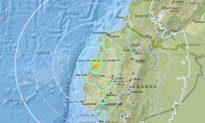 6.0-Magnitude Earthquake Hits Coast of Ecuador