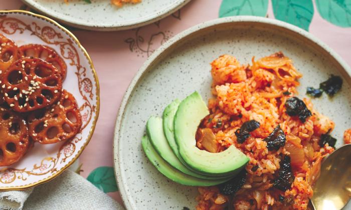 Kimchi Fried Rice. (Courtesy of Countryman Press)