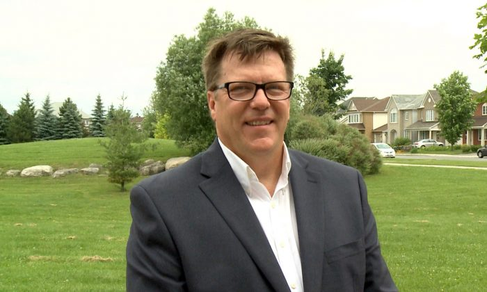 Michel Juneau-Katsuya, former Asia-Pacific bureau chief for the Canadian Security Intelligence Service, in a file photo.  (NTD Television)