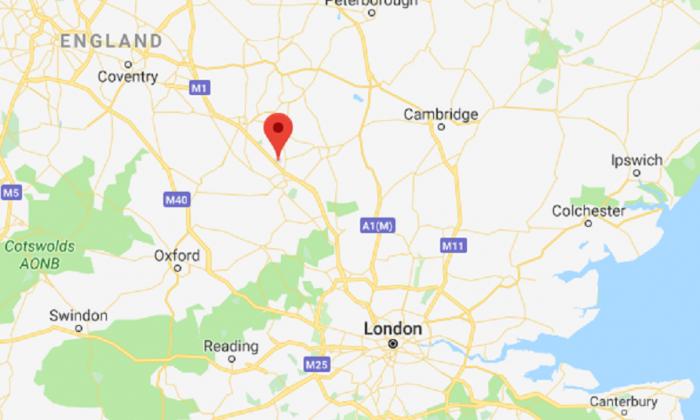 Milton Keynes, U.K. (Screenshot via Google Maps)