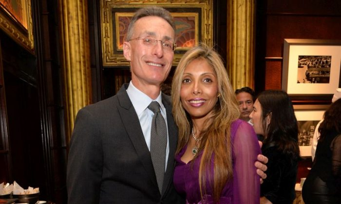 Jeffrey Rosenthal (L) and Rohina Bhandari attend The Duke of Edinburgh's International Award USA New York Metropolitan Chapter at JW Marriott Essex House in New York City on May 14, 2014.  (Ben Gabbe/Getty Images for The Duke of Edinburgh's International Award USA)
