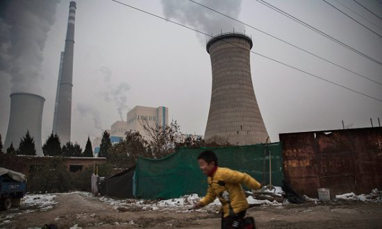 China Freezes to Reduce Pollution