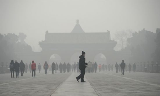 Hazardous Levels of Smog Covers Beijing Twice Within a Month