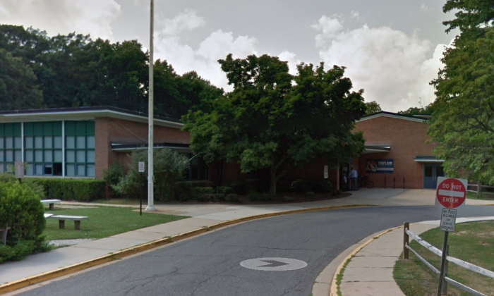 Taylor Elementary School in Arlington, Virginia. (Screenshot via Google Maps)
