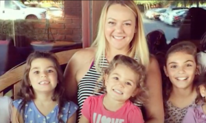 Foster mom takes in 4 kids at one time. But next day—what little girl says, she freezes
