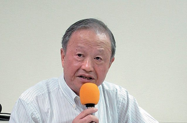 Kao Wei-Pang, founder of the Taiwanese Victims of Investment in China Association. (The Epoch Times)