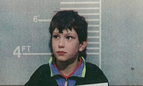 Jon Venables, 10 years of age, poses for a mugshot for British authorities Feb. 20, 1993 in the United Kingdom. Both Venables and Robert Thompson were 10 years-old when they tortured and killed 2 year-old James Bulger in Bootle, England. (Photo Courtesy of BWP Media via Getty Images)