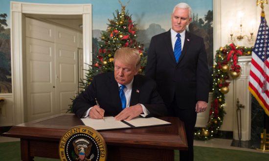 Trump Declares Jerusalem Capital of Israel in 'Long Overdue' Decision