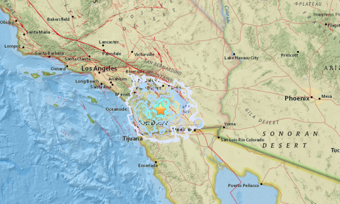 Earthquake Among Several Small Quakes to Hit San Diego County