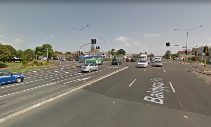 The incident happened near the intersection of Sandringham and Balmoral roads. (Screenshot via Google Maps)
