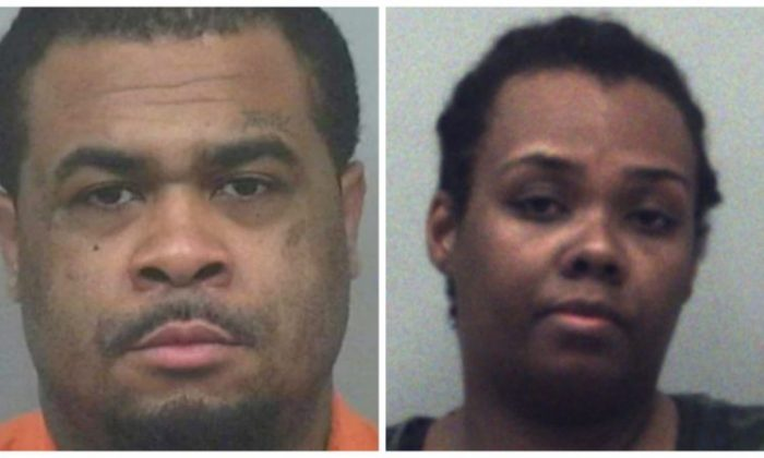 Rimmon Lewis and Angela Strothers (Gwinnett County Sheriff's Office)