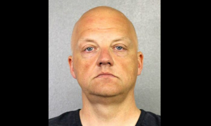 Volkswagen executive Oliver Schmidt, charged with U.S. Emissions fraud, is shown in this booking photo in Fort Lauderdale, Florida, U.S., provided Jan. 9, 2017. (Courtesy of Broward County Sheriff's Office/Handout via Reuters)