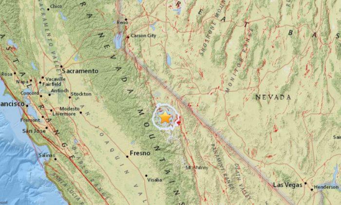 4.1-magnitude quakes rattles Mammoth Lakes region