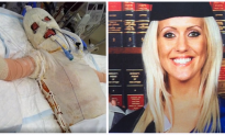 Brave woman was burned alive and diagnosed with cancer — but neither could defeat her spirit.
