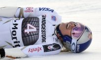 Skier Lindsey Vonn Suffers Back Injury in World Cup Race