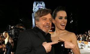 'Star Wars: The Last Jedi' Premieres With Tribute to Late Carrie Fisher