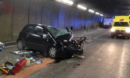 Crash in Gotthard Tunnel Kills 2, Injures 4