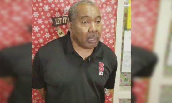 They didn't think much of school janitor, but one night they catch him in hall—jaw drops at video