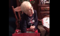 Family turns late grandfather's Christmas sweater into pillow and gifts it to their grieving grandma
