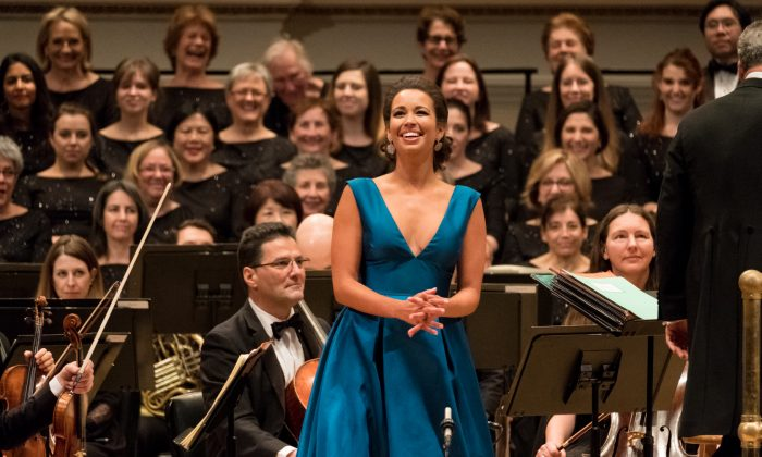 Soprano Nadine Sierra is the 2017 winner of the Richard Tucker Award. (Dario Acosta)