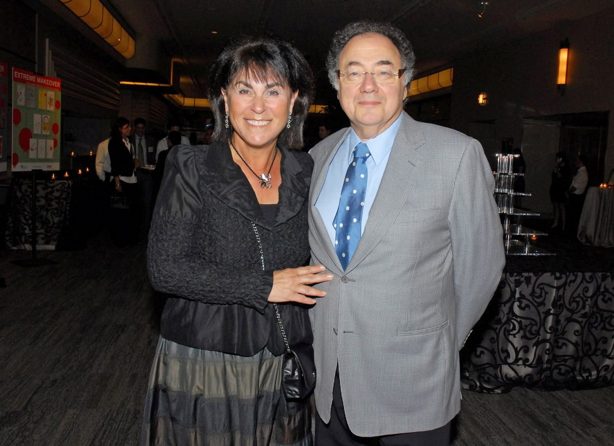 Thousands of mourners gather to pay tribute to Barry and Honey Sherman