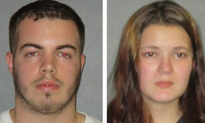 Jace Crehan and Brittany Monk. (Walker Police Department)