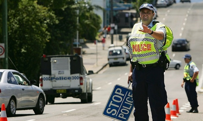 A policewoman has been sentenced to more than a year in jail for avoiding a random breath testing stop in Sydney. (Cameron Spencer/Getty Images)