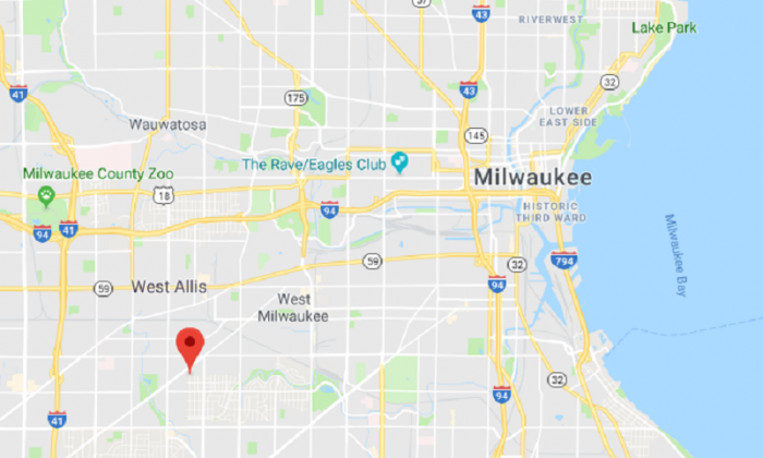 The approximate location where a man attempted to rob a 95-year-old veteran in West Allis, Wis., on Dec. 4, 2017. (Screenshot via Google Maps)